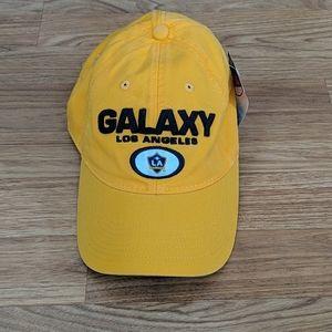 Adidas LA Galaxy soccer hat NWT